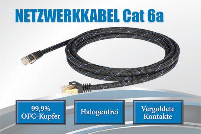 Netzwerkkabel Cat 6a