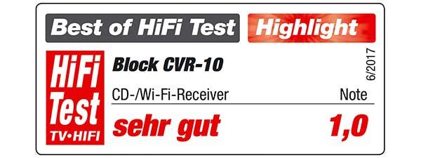 CVR-10 Block Testbericht