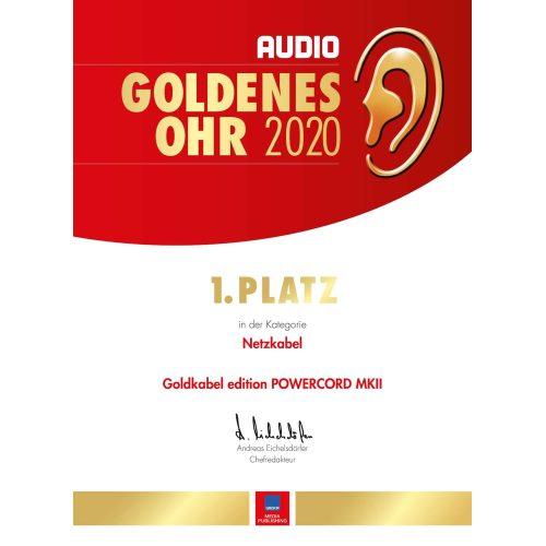 Powercord Goldenes Ohr