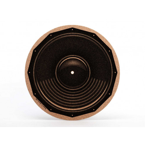 Plattentellerauflage Kork Speaker
