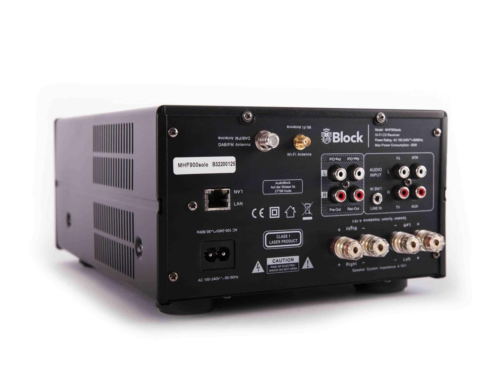 MHF-900 Solo Audioblock