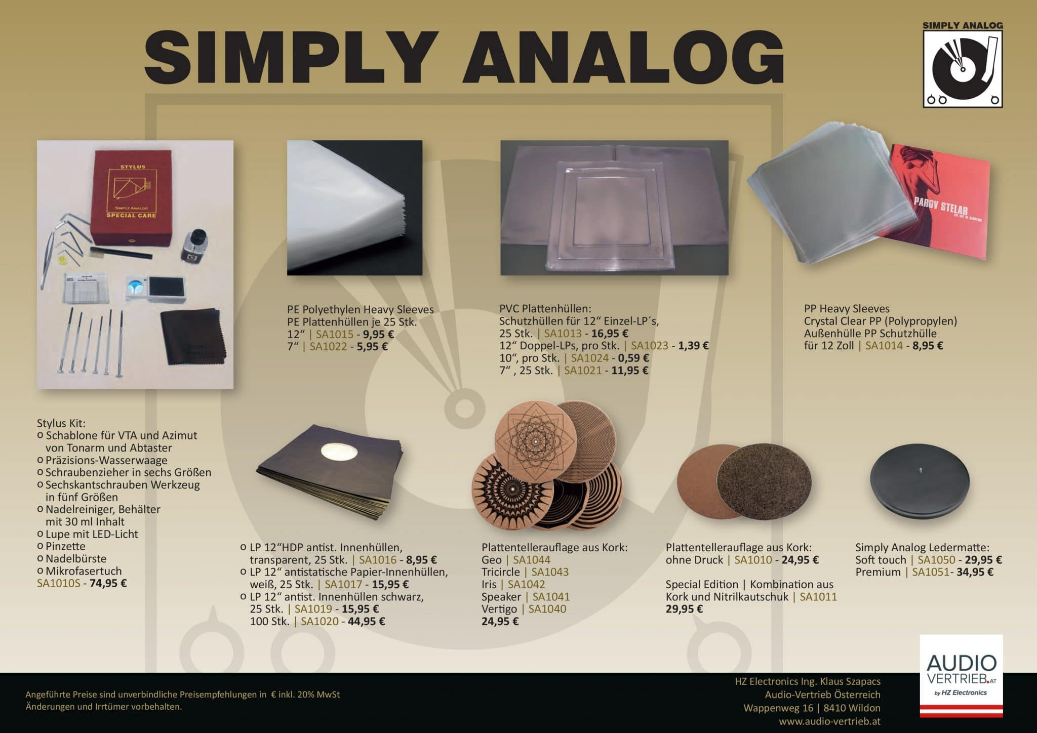 Simply Analog Flyer S2